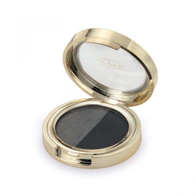 Eye Shadow silver carbon