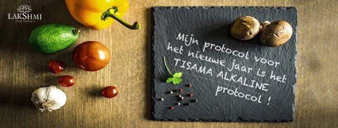 LAKSHMI – Mijn protocol voor het nieuw jaar is het Tisama Alkaline voedingsprotocol!